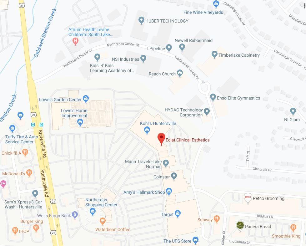 Eclat Clinical Esthetics location