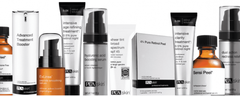 PCA Skin products facial skin care