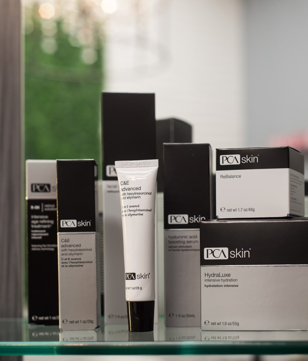 PCA Skin care facial products