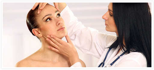 skin consultation with esthetician